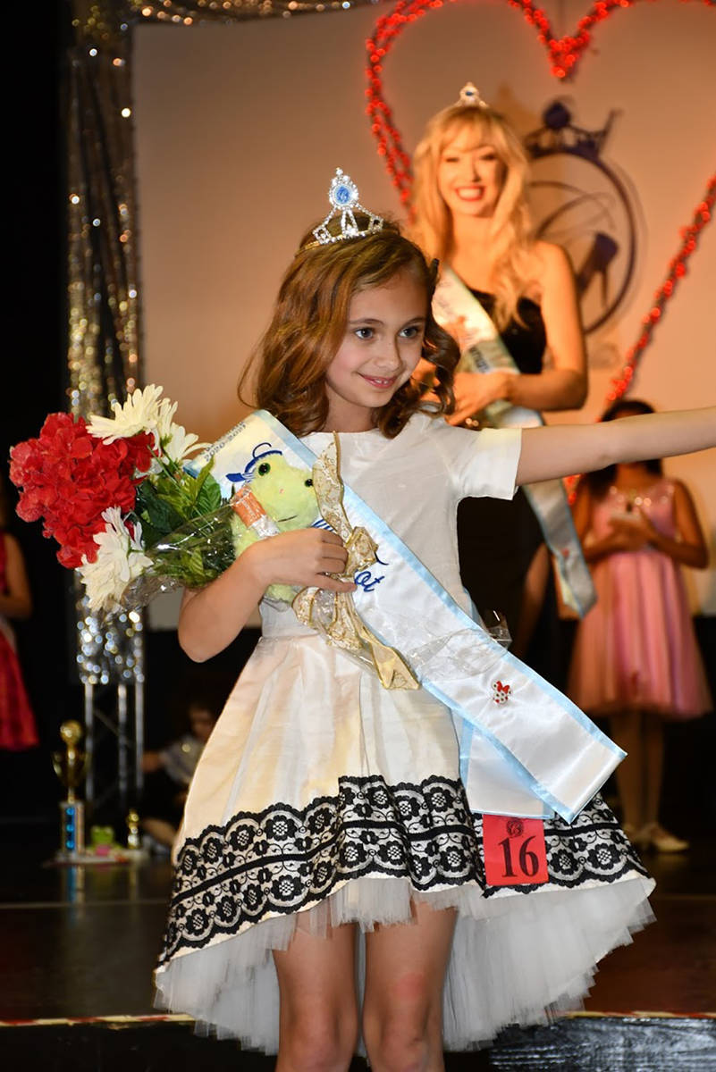 Special to the Pahrump Valley Times Nye County Cinderella Tot Paisley Hartley-Irelan.