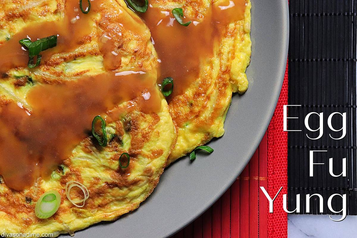 Patti Diamond/Special to the Pahrump Valley Times Egg Fu Yung is surprisingly easy to prepare, ...