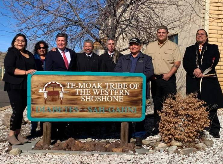 Special to the Pahrump Valley Times A screen shot of the Te-Moak Tribe of Western Shoshone Ind ...