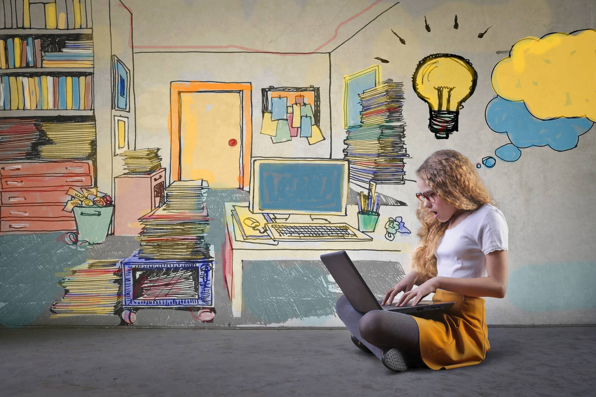 Getty Images Children in Southern Nevada can submit their entries to the Vegas PBS Kids Writer ...
