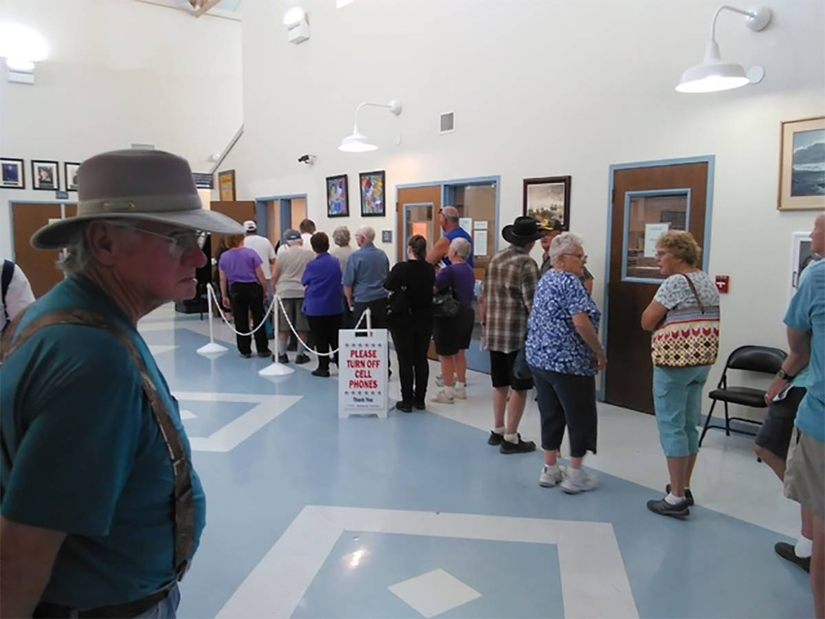 Selwyn Harris/Pahrump Valley Times The crime of voting more than once at the same election is ...