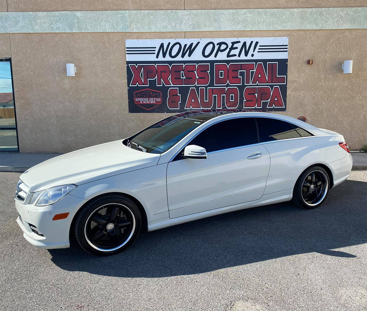 Special to the Pahrump Valley Times Located at 980 Pahrump Valley Boulevard, Xpress Detail and ...