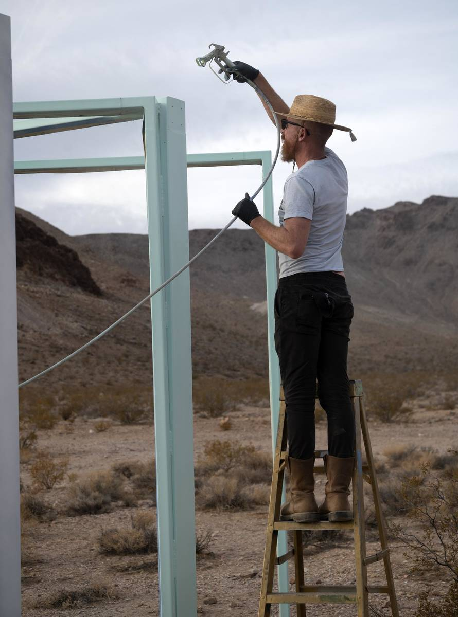 Richard Stephens/Special to the Pahrump Valley Times Joel Spencer, a director on the Goldwell ...
