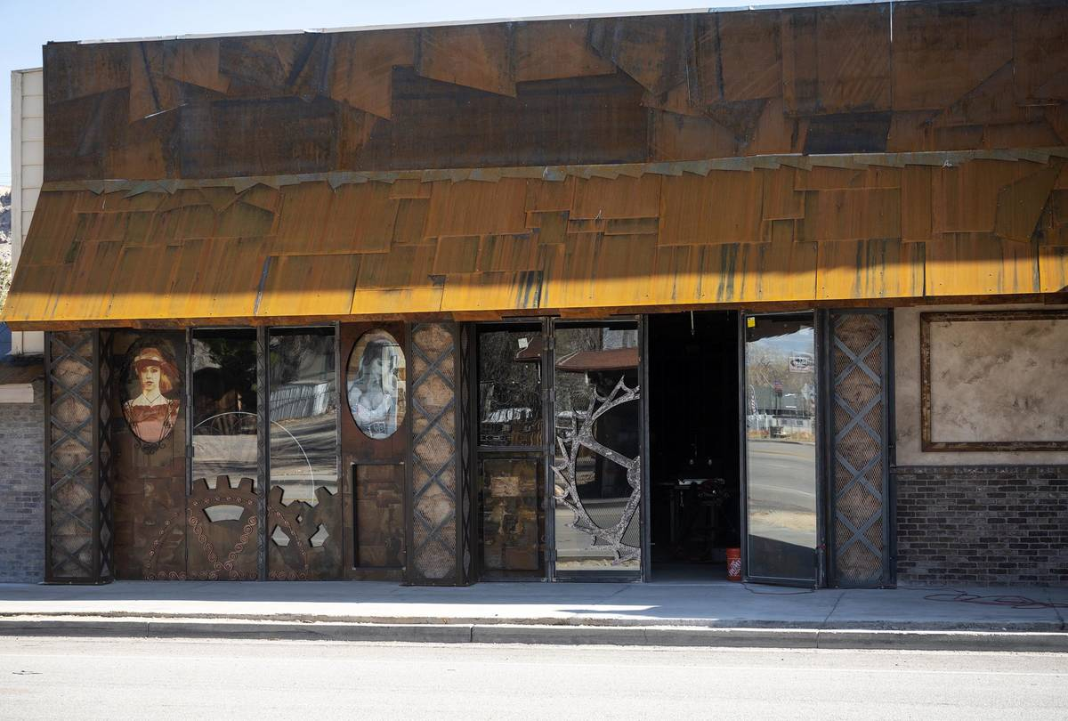 Richard Stephens/Special to the Pahrump Valley Times Workmen are making progress on the conver ...