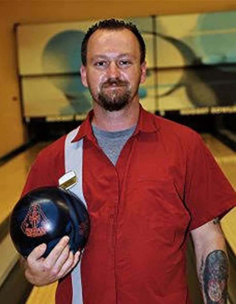 Randy Gulley/Special to the Pahrump Valley Times Anthony Matassa with the Roto Grip Rubicon bal ...