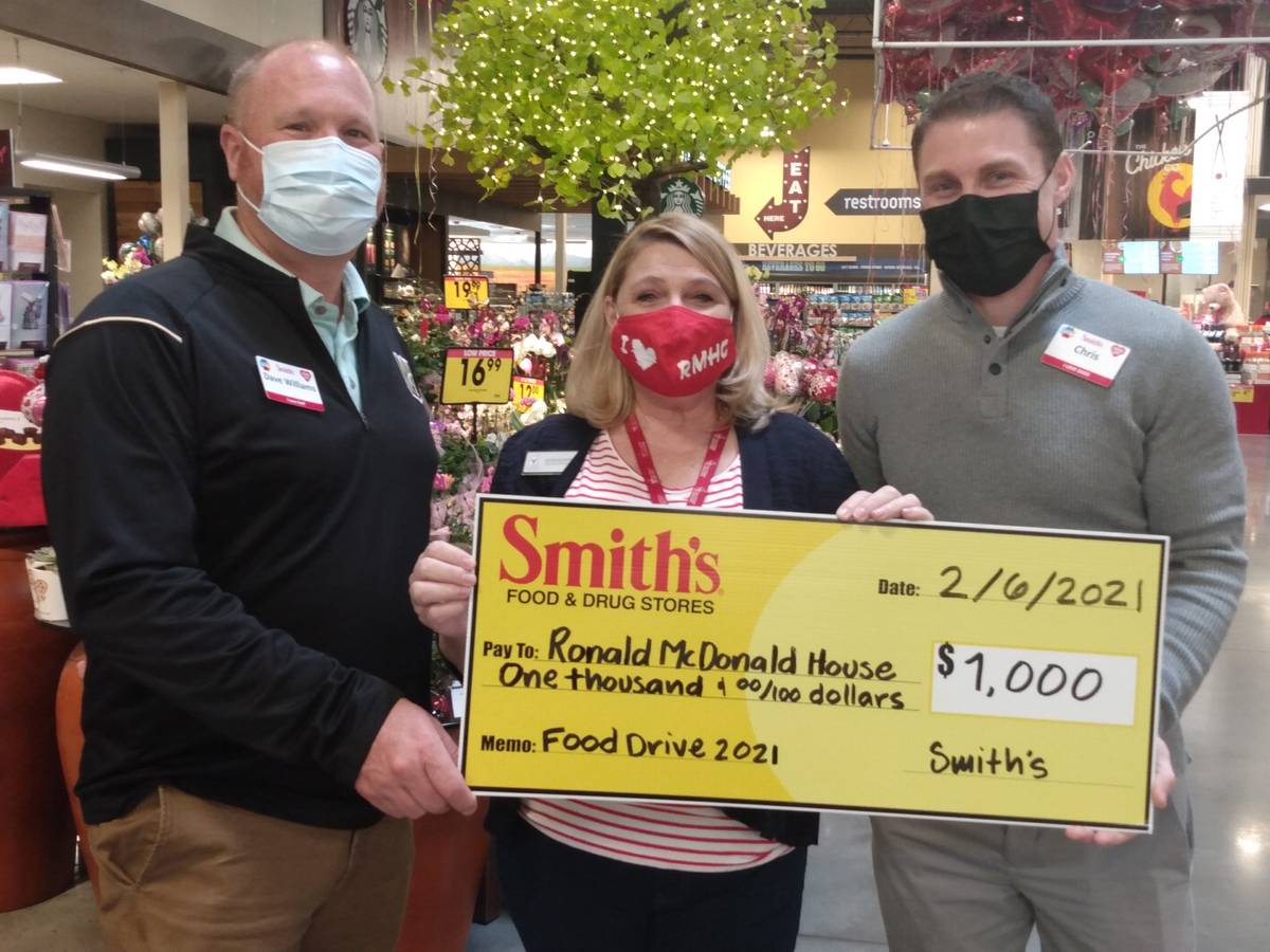 Special to the Pahrump Valley Times Alyson McCarthy, CEO of the Ronald McDonald House Charitie ...
