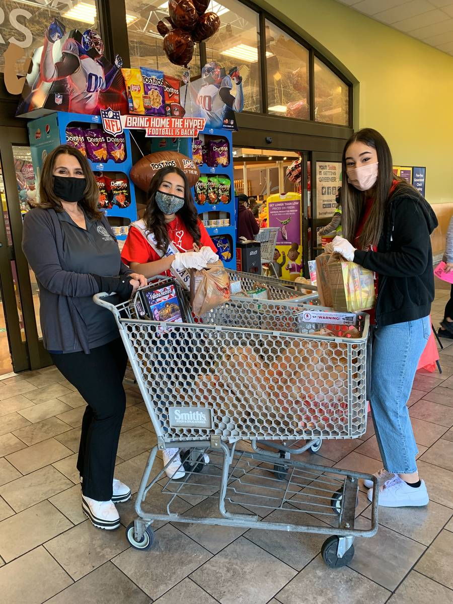 Special to the Pahrump Valley Times RMHC volunteers handed out wish lists at area Smith's st ...