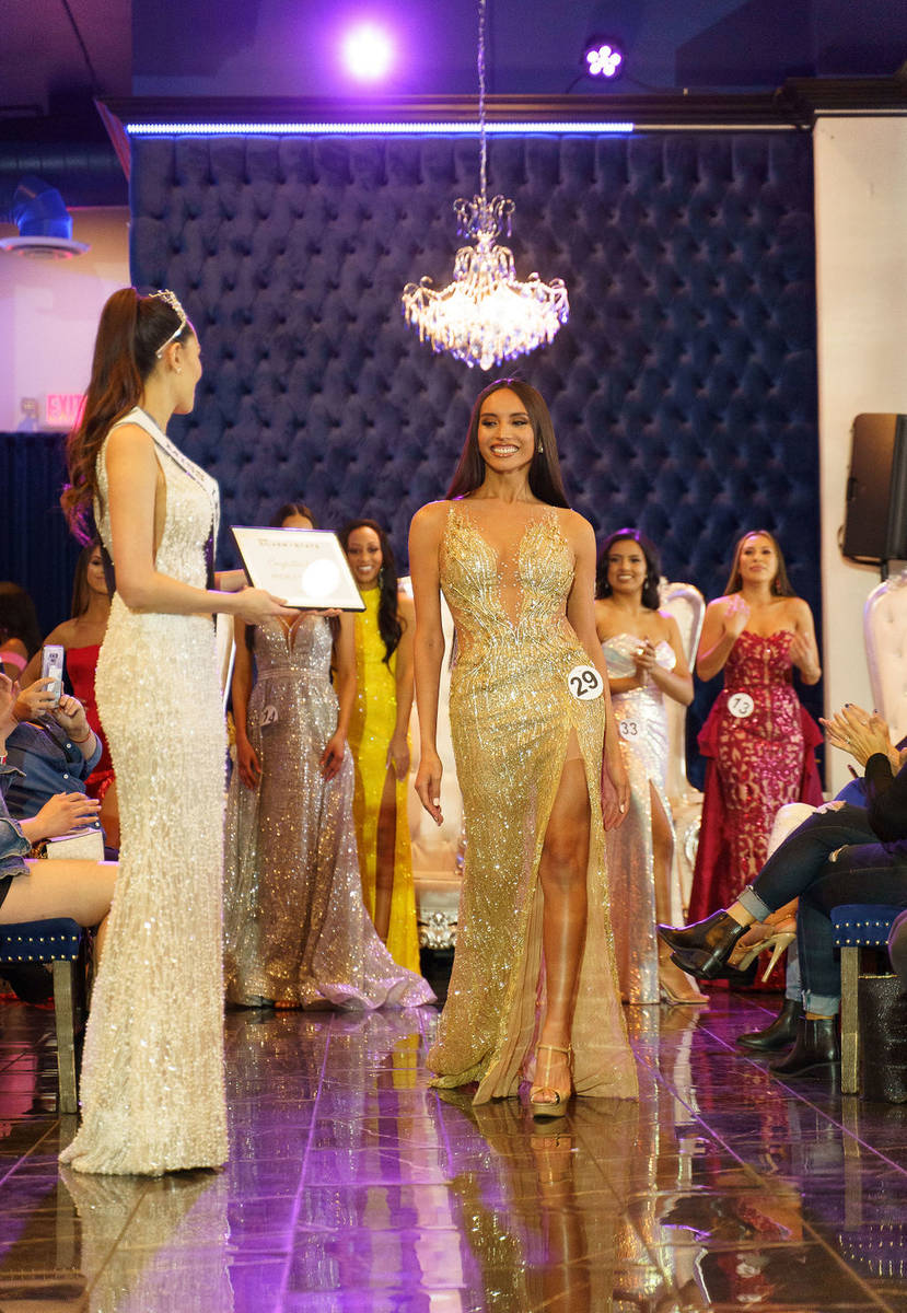 Kataluna Enriquez recently became the first transgender person to win the title of Miss Silver ...