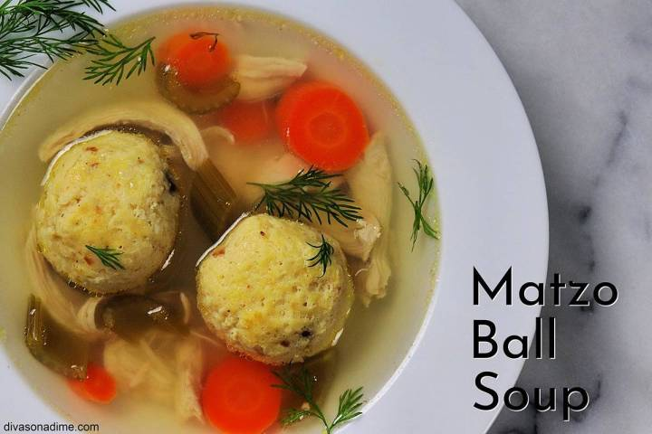 Patti Diamond/Special to the Pahrump Valley Times Matzo ball soup is a traditional offering dur ...