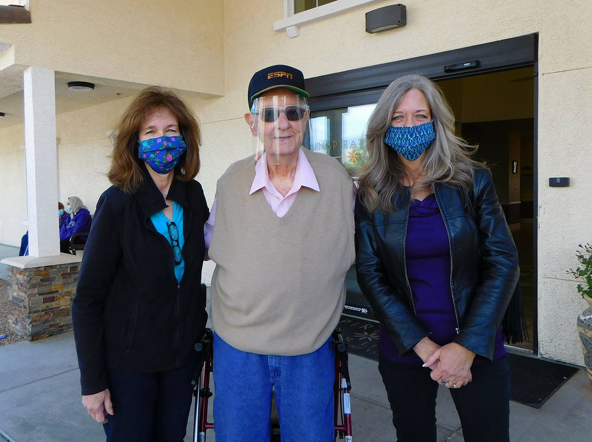 Robin Hebrock/Pahrump Valley Times Edwin Marcum, a survivor of COVID-19 and one of the inspirat ...