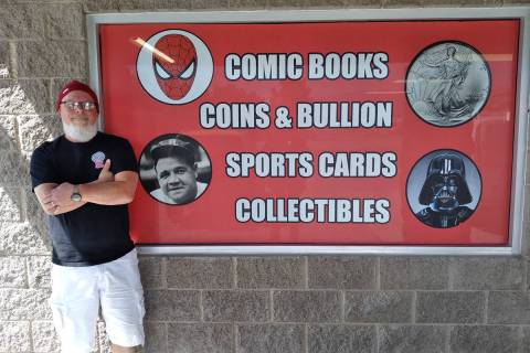 Selwyn Harris/Pahrump Valley Times Hypno Comics owner George Chase is hosting a grand opening f ...