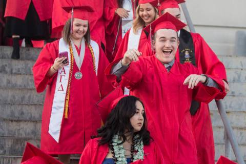 Special to the Pahrump Valley Times In-person graduation ceremonies will be held at UNLV and UN ...