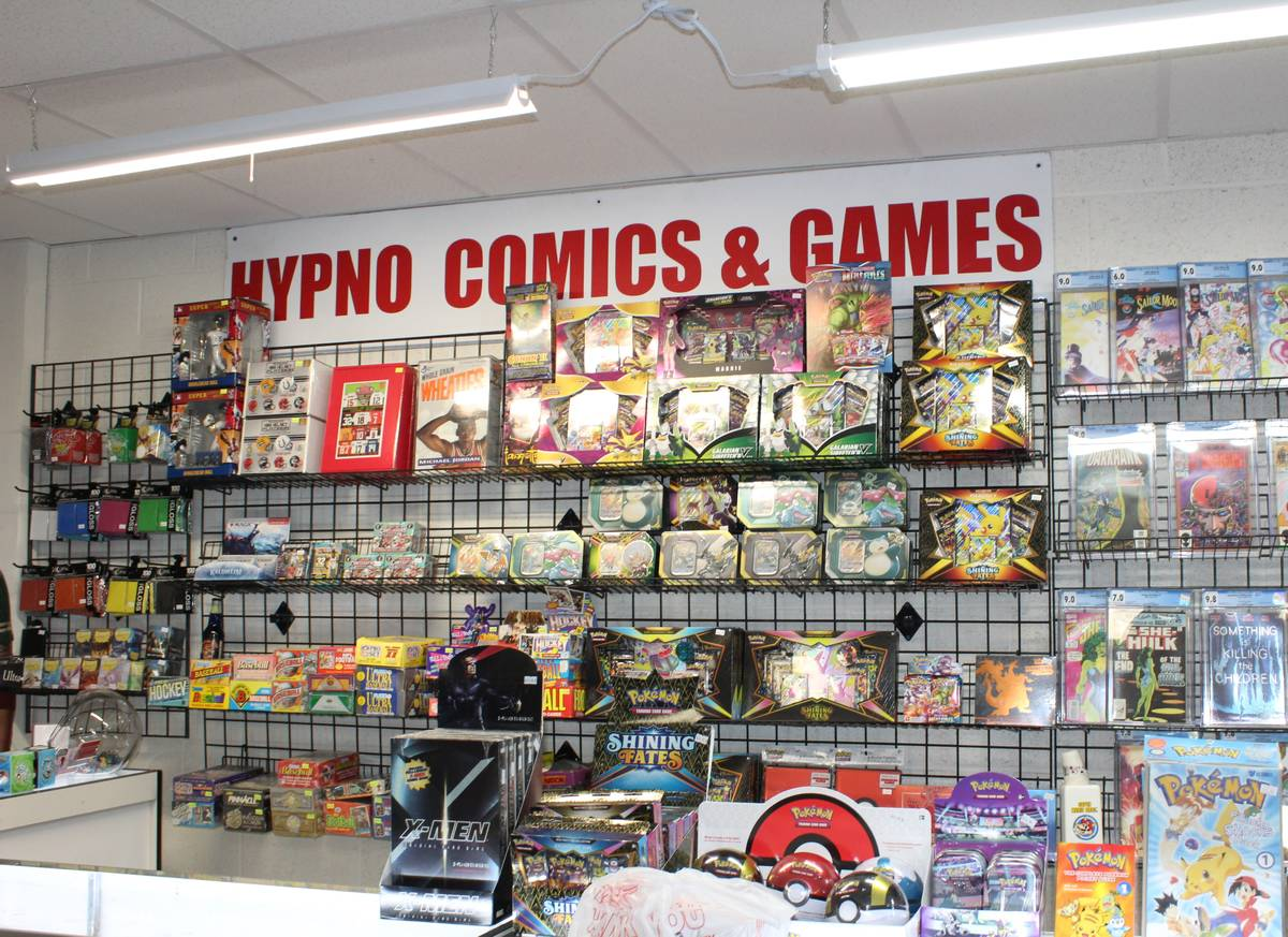 Alyssa Greenway/Special to the Pahrump Valley Times The new location of Hypno Comics at 720 Ea ...