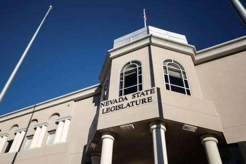 The Nevada State Legislature Building at the state Capitol complex in Carson City. (Benjamin Ha ...