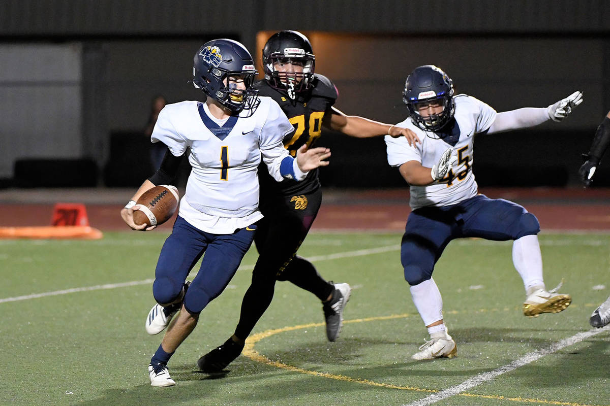 File photo Longtime rivals Boulder City and Pahrump Valley will be in the new Class 3A Mountain ...