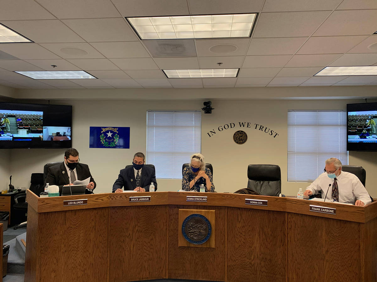 Special to the Pahrump Valley Times The Nye County Commission will host its next meeting on Tue ...