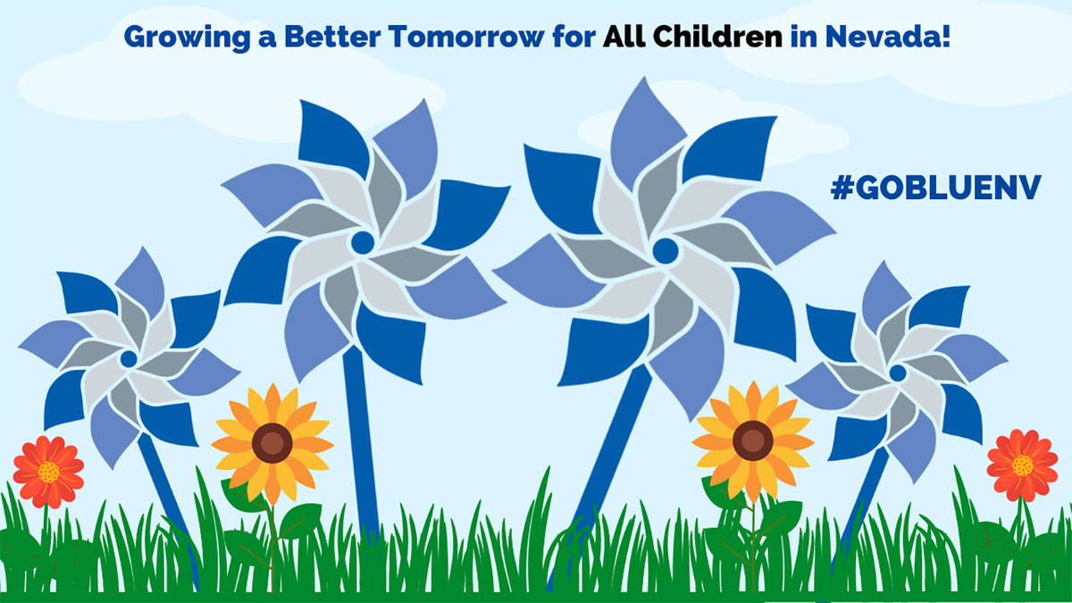 Special to the Pahrump Valley Times Pinwheels for Prevention is part of the National Child Abus ...