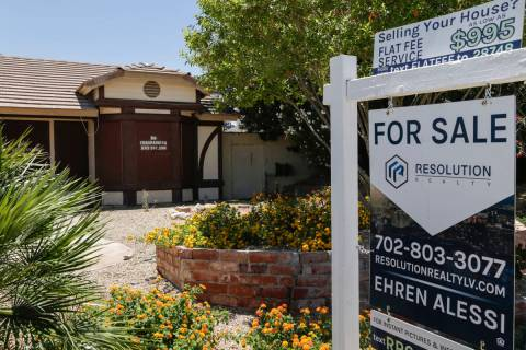 Gabriella Angotti-Jones/Las Vegas Review-Journal The median home price in Pahrump for March was ...