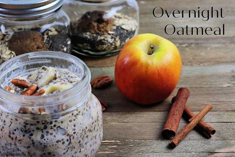 Patti Diamond/Special to the Pahrump Valley Times Oatmeal is a whole grain, packed with fiber a ...