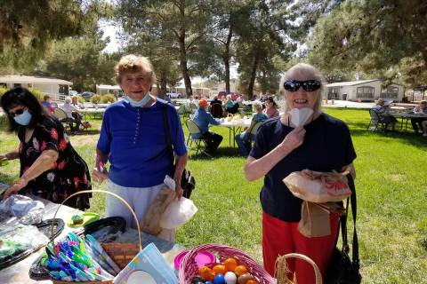 Photo courtesy of Nancy Fowler Mild temperatures and clear skies made for an enjoyable Easter d ...