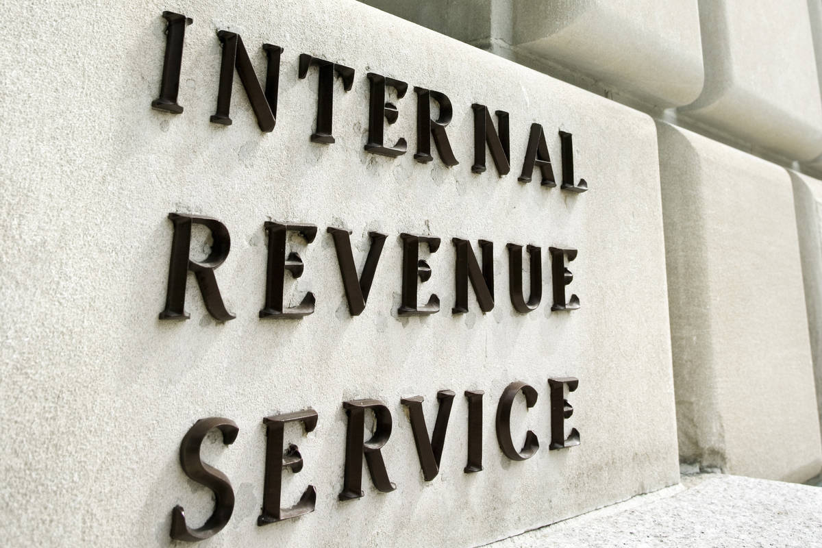 Thinkstock Internal Revenue Service building.
