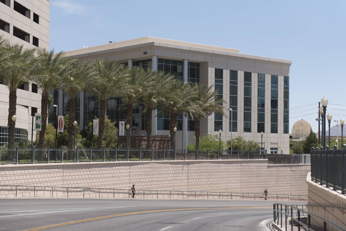 Jason Ogulnik/Las Vegas Review-Journal The IRS office in Las Vegas as shown in a 2016 file photo.