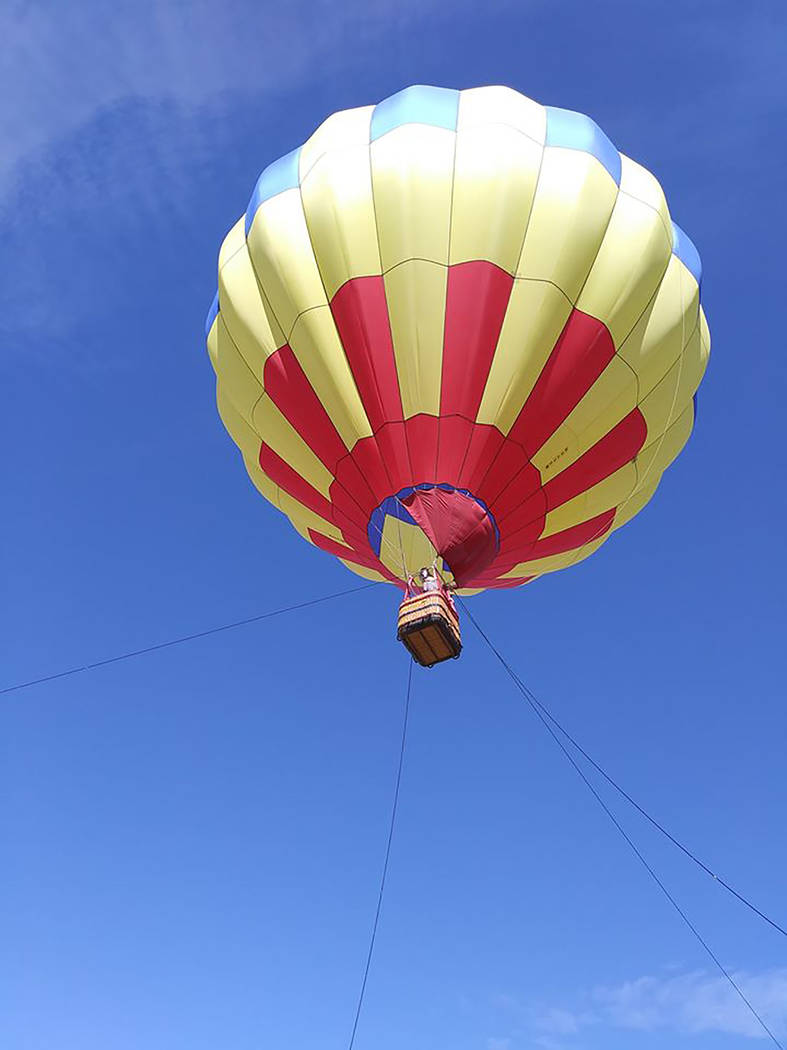 Pahrump Chamber of Commerce Though balloon pilots control ascending and descending their craft, ...