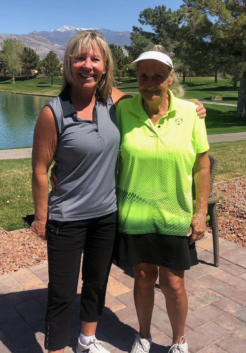 Special to the Pahrump Valley Times Mountain Falls Women's Golf Association President Julie Flo ...