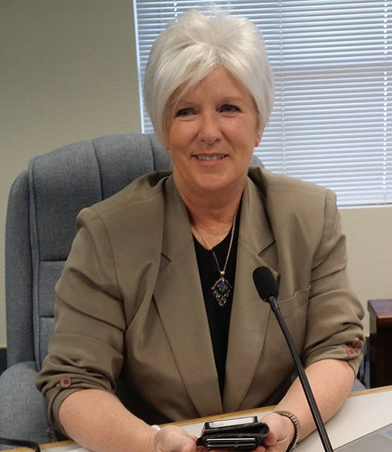 Special to the Pahrump Valley Times Former Nye County Commissioner Lorinda Wichman has been sel ...