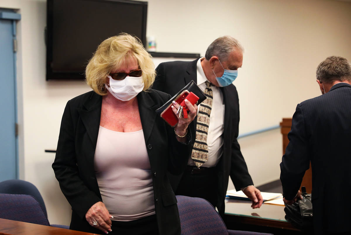 Patricia Chappuis, left, and Marcel Chappuis, center, the married owners of the now-shuttered N ...