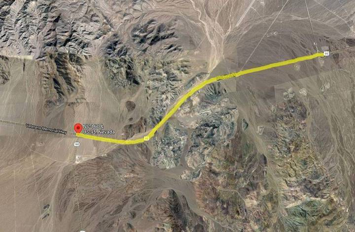 Nevada Department of Transportation Road work planned in Nye County will affect both the north ...