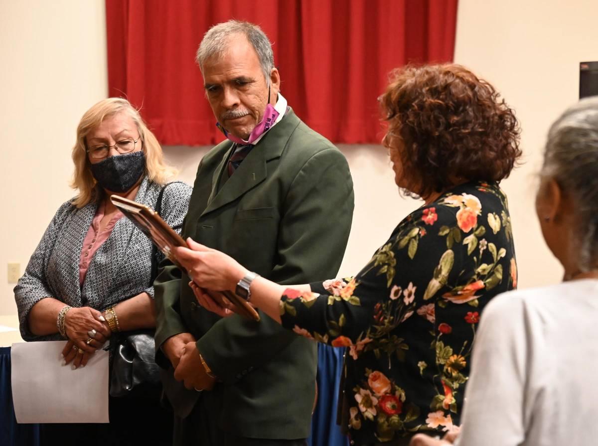 Richard Stephens/Special to the Pahrump Valley Times Ricardo Lopez, Beatty town custodian (cen ...