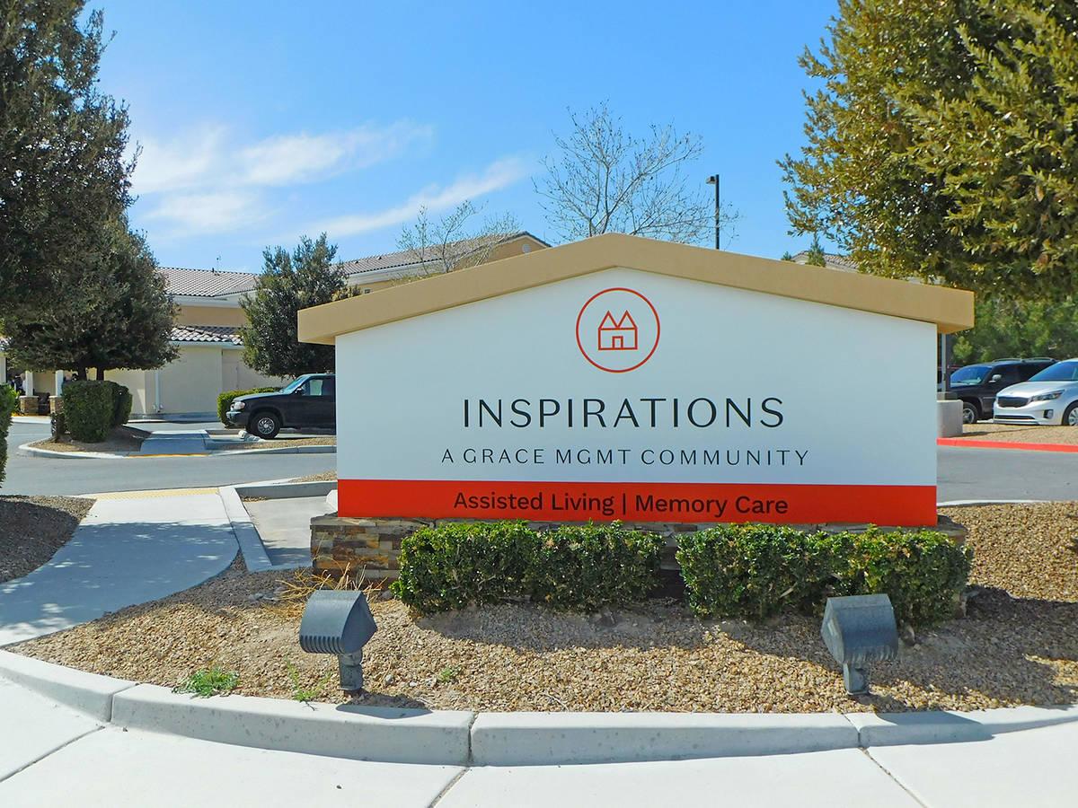 Robin Hebrock/Pahrump Valley Times A Drive-Thru Senior Fair occurred at Inspirations Senior Liv ...