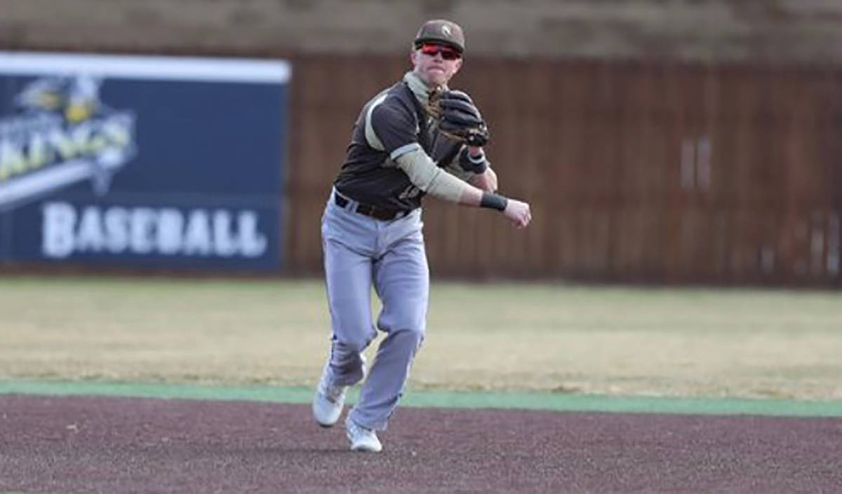 Special to the Pahrump Valley Times Chase McDaniel is already a fixture at shortstop for Southw ...