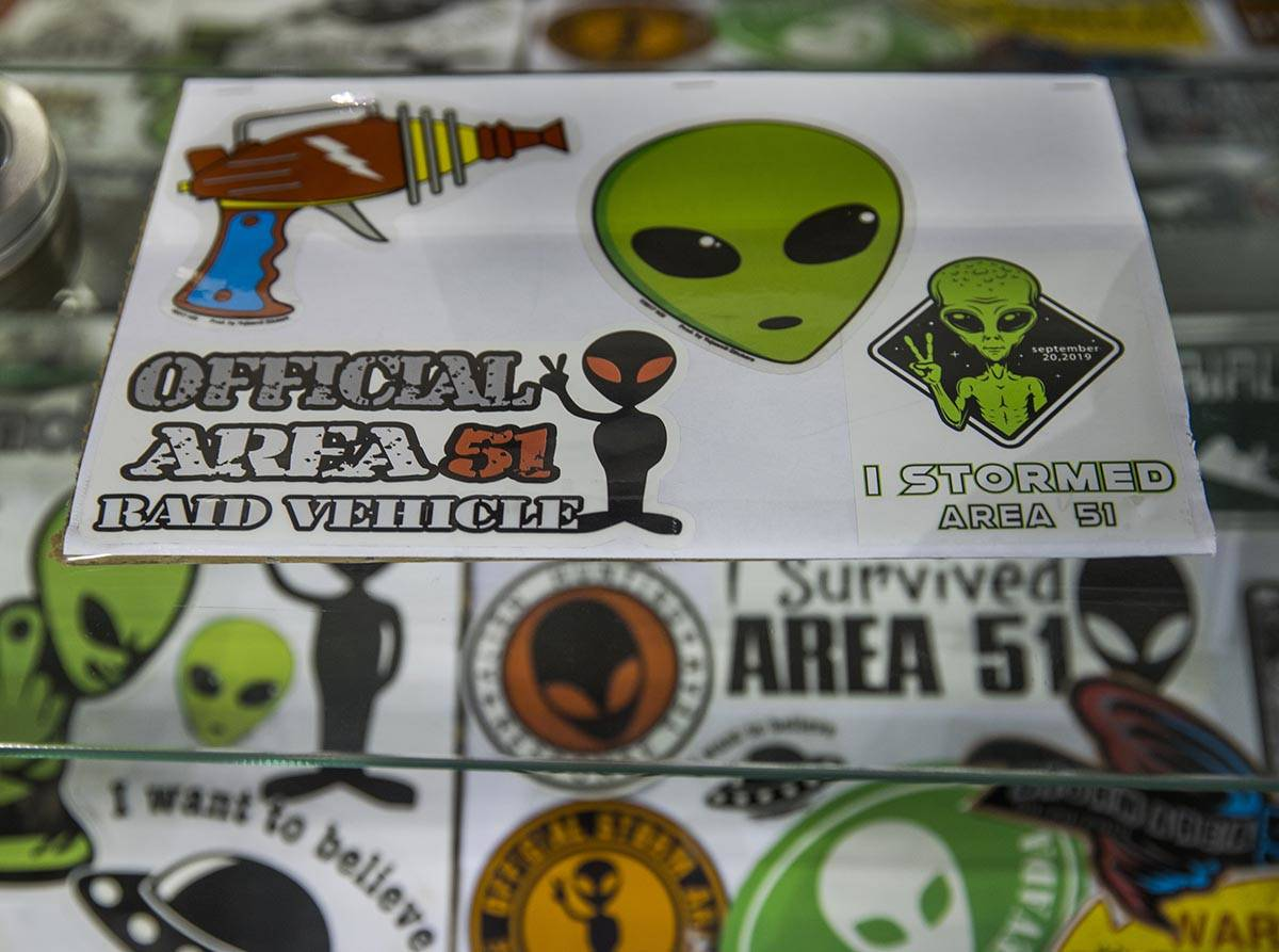 The Alien Research Center is open and and still sells Alienstock merchandise a year following t ...