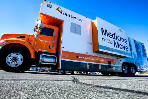 Special to the Pahrump Valley Times A mobile medical unit will be in Pahrump at 2210 Calvada B ...