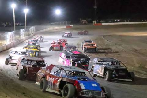 File photo Racing returns Saturday to Pahrump Valley Speedway, with Mini Stocks, Super Stocks, ...