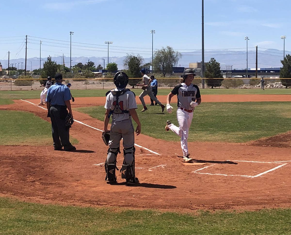 Tom Rysinski/Pahrump Valley Times Scoring a run is one of the few statistics you can trust from ...