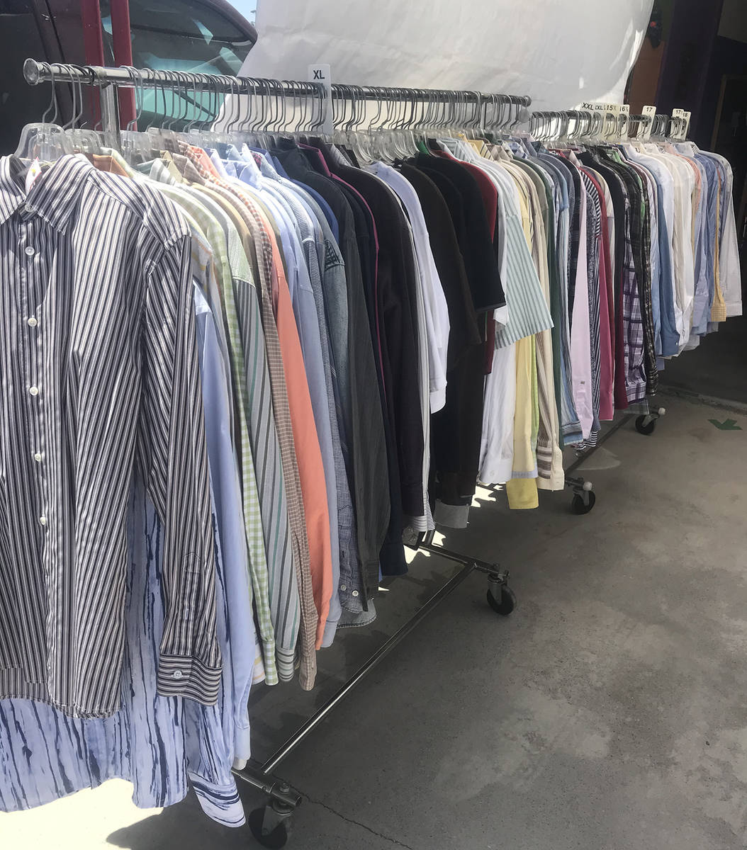 Special to the Pahrump Valley Times The head-to-toe clothing inventory are name brand designer ...