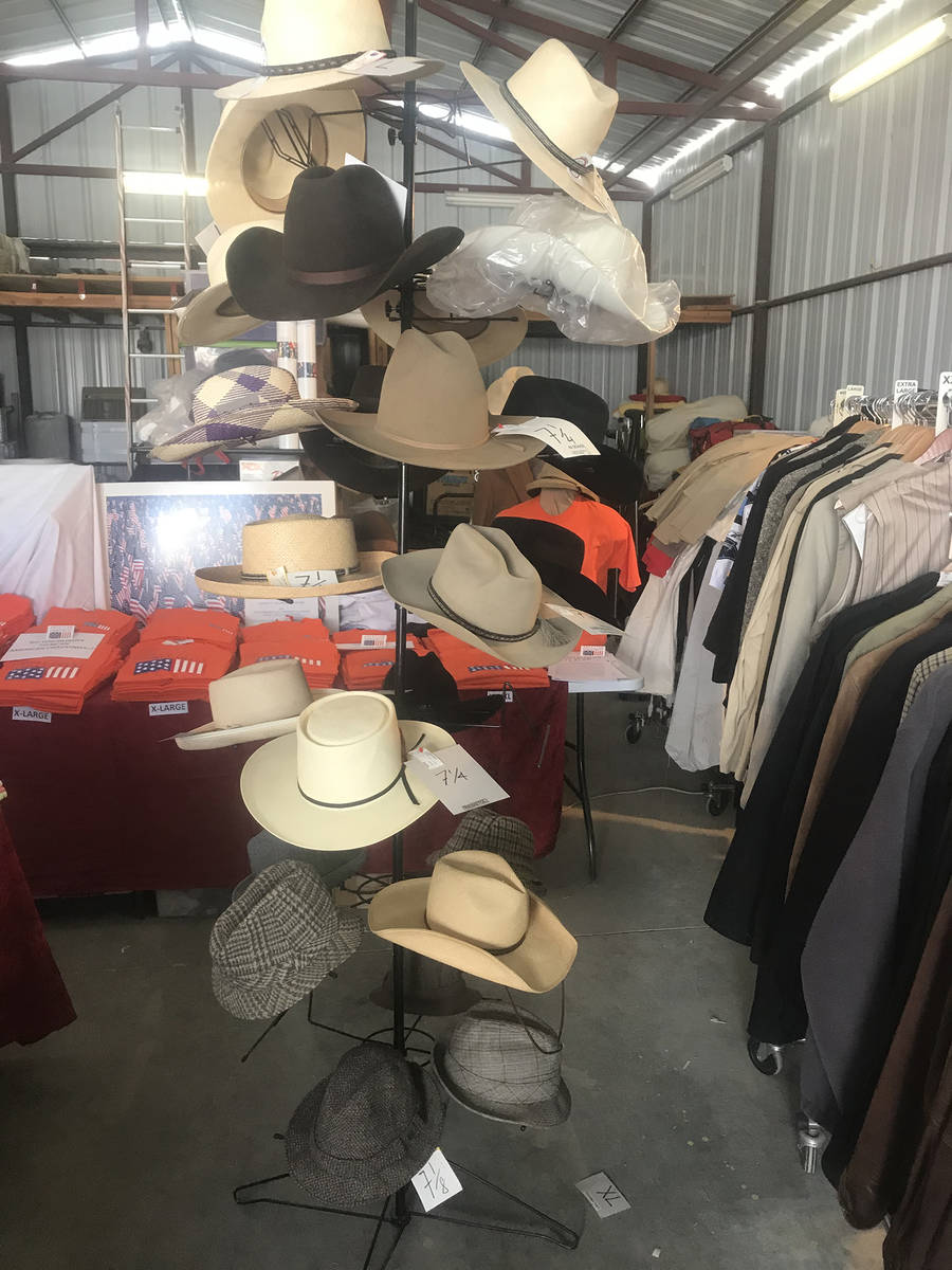 Special to the Pahrump Valley Times All of the clothing items will be sold at 50 percent off o ...