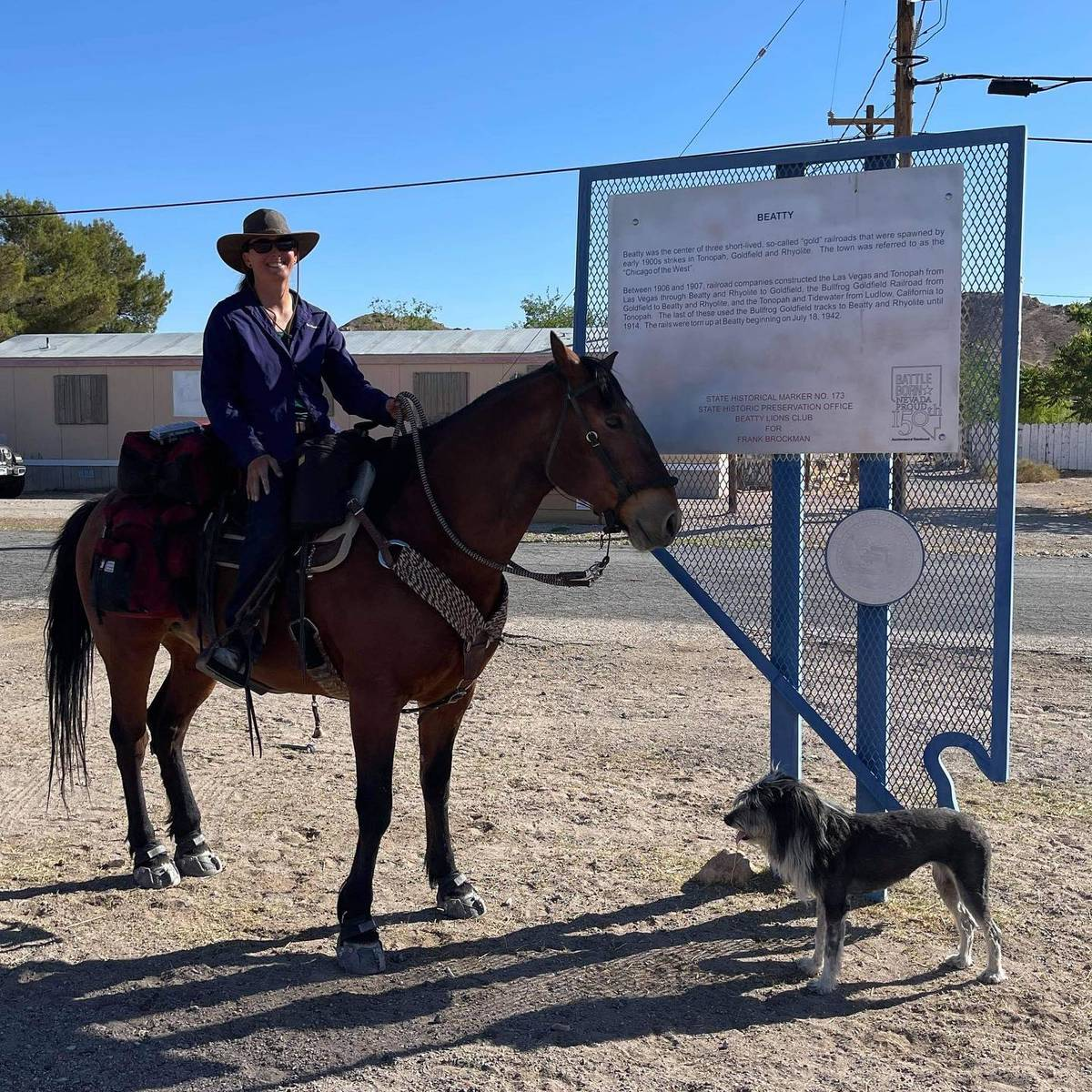 Nevada Discovery Ride In her first trip to Southern Nevada Szesciorka will stop in Las Vegas, G ...