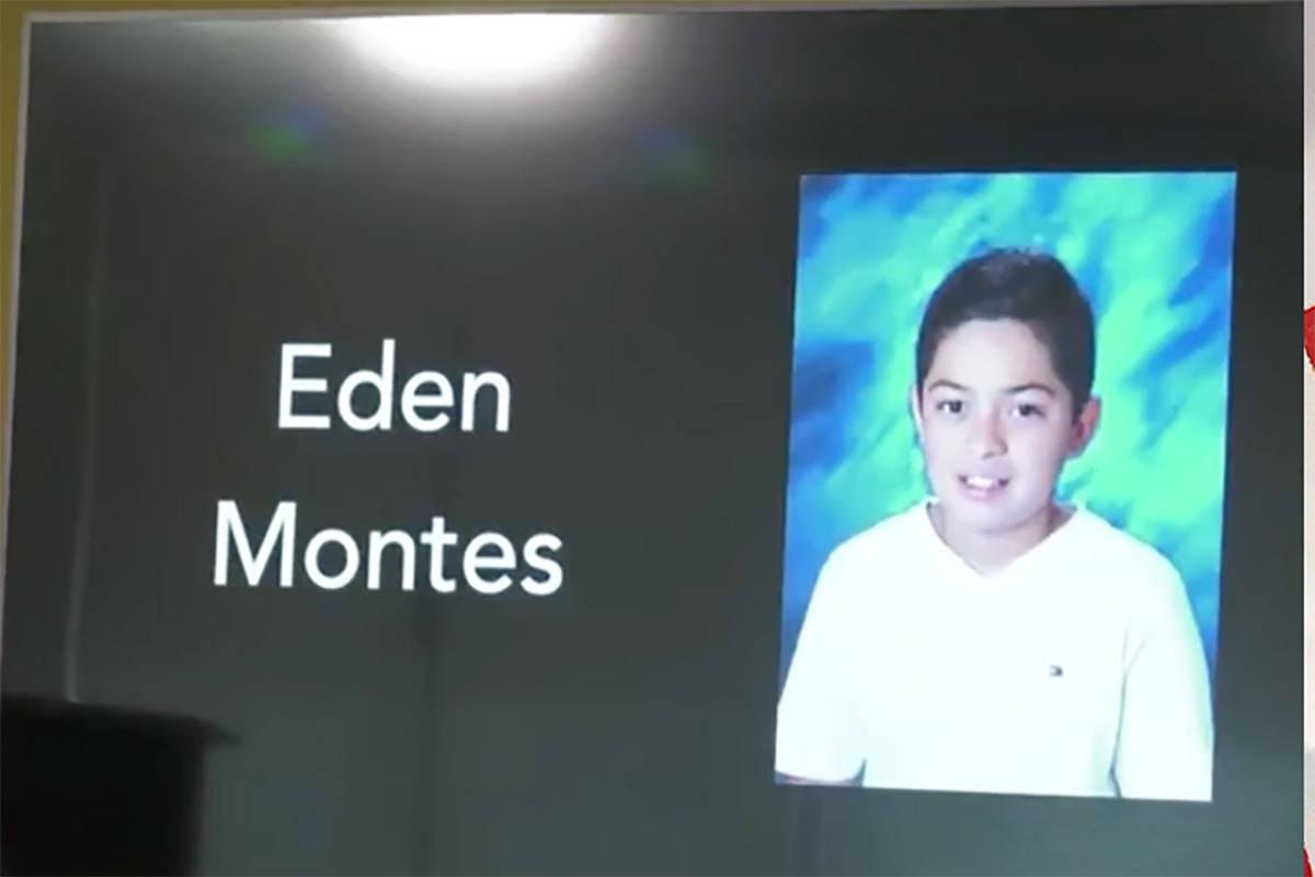 Eden Montes, 11 (Las Vegas Metropolitan Police Department)