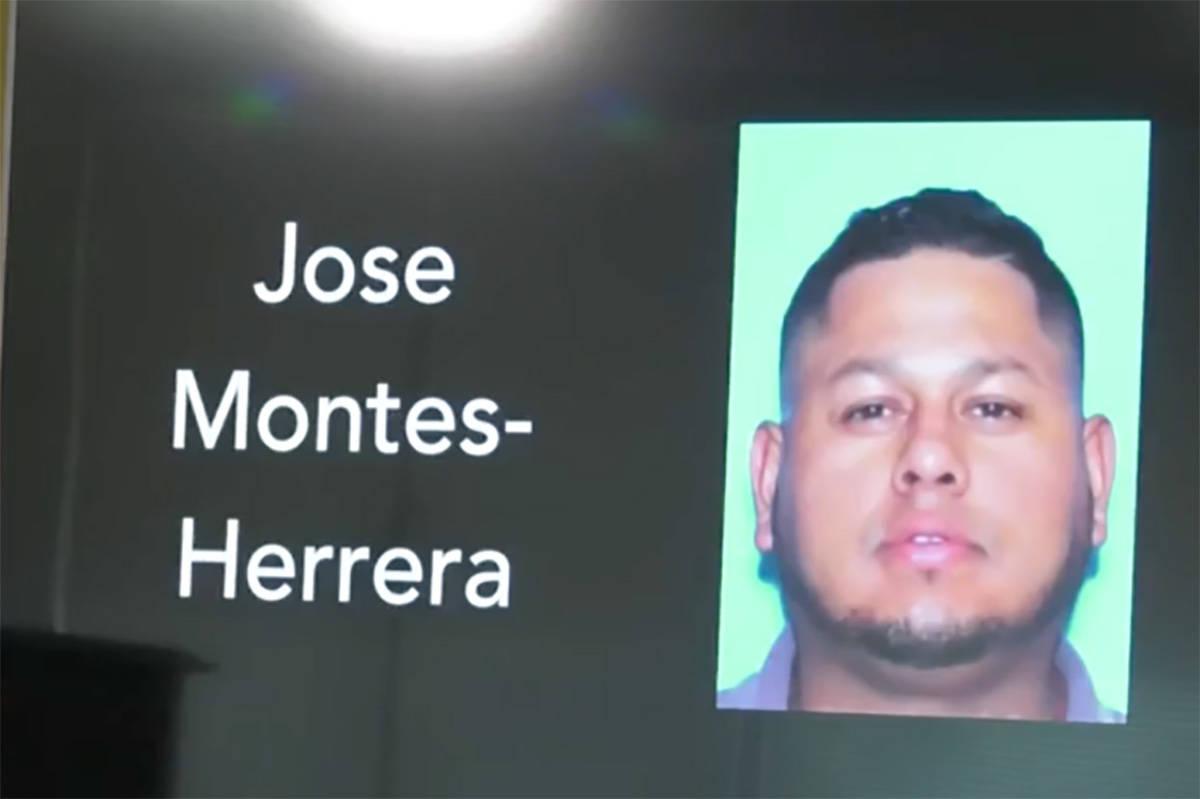 Jose Montes-Herrera, 37 (Las Vegas Metropolitan Police Department)