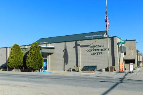 Robin Hebrock/Pahrump Valley Times The town of Tonopah's request for $150,000 to fund the purch ...