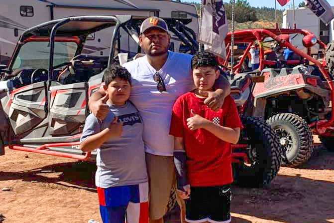 Jose Montes posted a photo of himself and his children on his Facebook account on May 31. In th ...