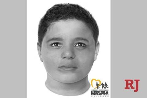The body of a boy was found Friday between Las Vegas and Pahrump. The boy was described as Hisp ...