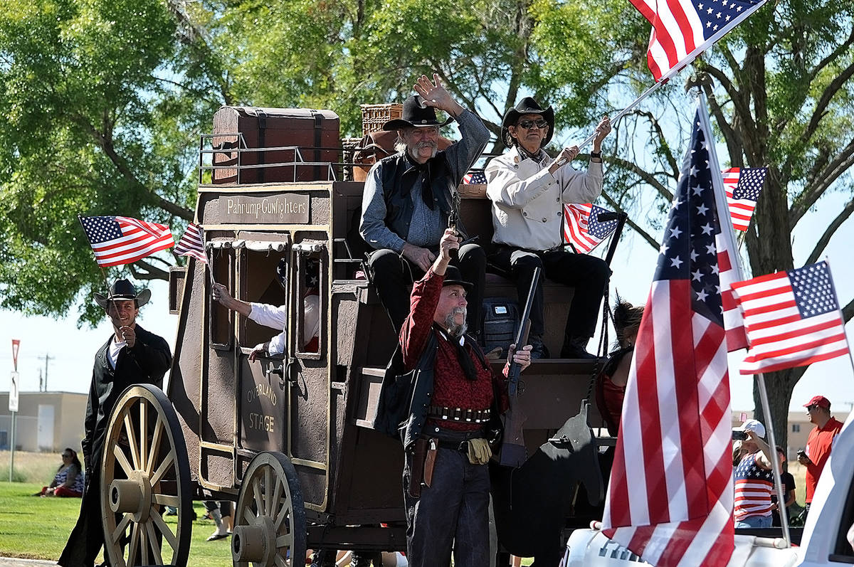 Horace Langford Jr./Pahrump Valley Times Members of the Pahrump Gunfighters have been a fixtur ...