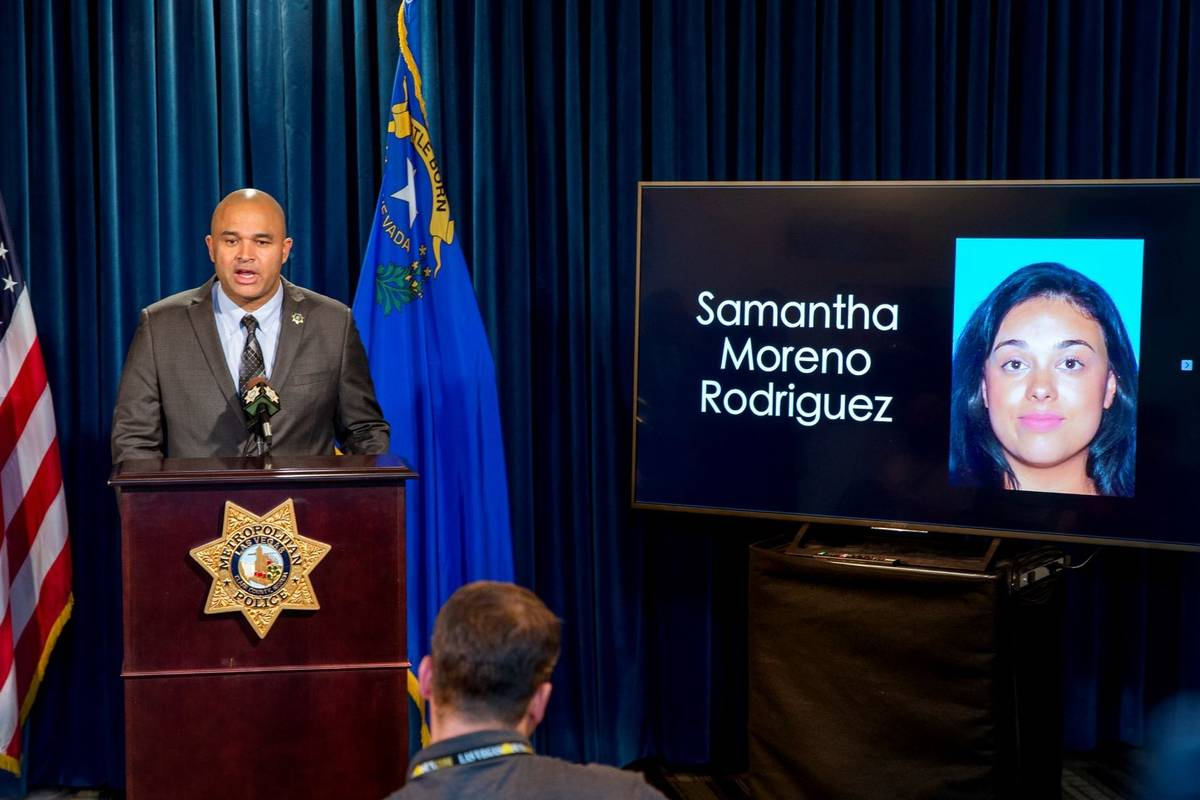 Metropolitan Police Department homicide Lt. Ray Spencer answers questions about Samantha Moreno ...