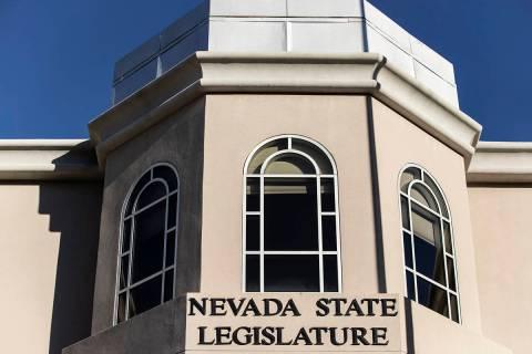 Benjamin Hager/Las Vegas Review-Journal The Nevada State Legislature Building.