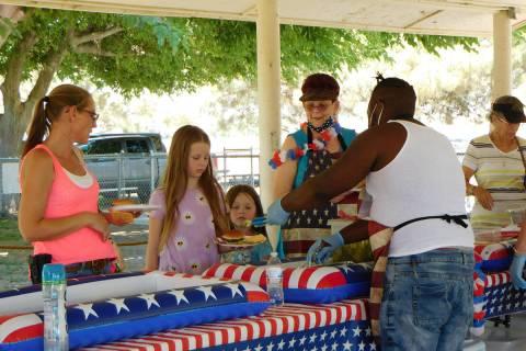 Robin Hebrock/Pahrump Valley Times The DAV Chapter #15's annual Veterans Appreciation Barbecue ...